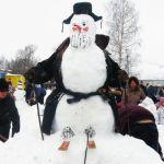 Котлас-конкурс снеговиков-1